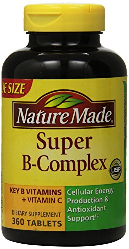 Nature Made Super B Complex Tablets, Value Size )