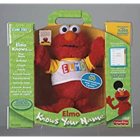 Elmo Knows Your Name and probably your Social Security Number too