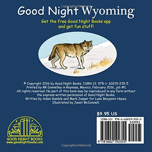 Good Night Wyoming (Good Night Our World)