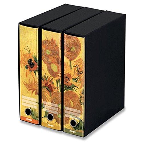 Set 3 raccoglitori Kaos- ds8- Vincent Van Gogh- Girasoli
