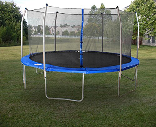 Sale!! Merax Round Trampoline and Safety Enclosure Set with Spring Pad