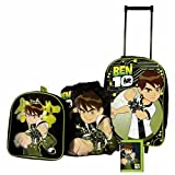 Ben 10 Four Piece Set - Wallet,Backpack, Sports bag and Trolley Bagby Zeon