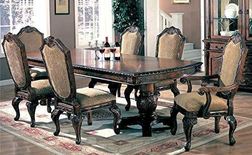 Where To Purchase 7pc Traditional European Style Dining Table Chairs Set Ronald B Thompsoner