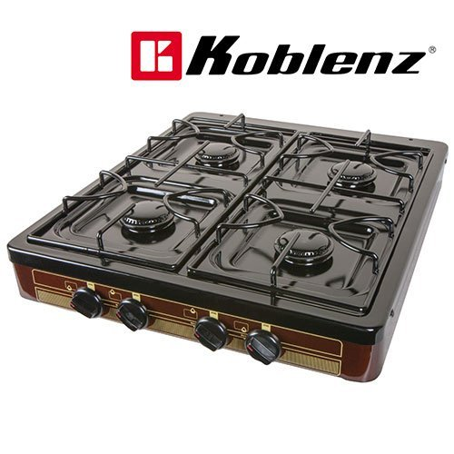 Koblenz 4 Burner Stove (Countertop Gas Burner compare prices)