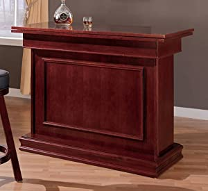 Amazon.com - Coaster All in One Game Table/Bar Unit with Wine