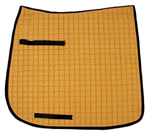Down Under Saddle Supply Dressage Rectangular Cotton Quilted Pad