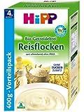Hipp Schmelzende Reisflocken, glutenfrei, 4er Pack (4 x 400 g) - Bio