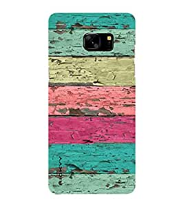 RICKYY _Note7_1129 Printed Matte designer Colors Wood case for Samsung Note 7