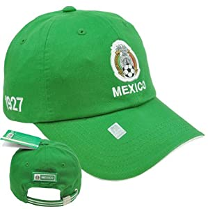 Amazon.com : Mexico Escudo Shield Hat Cap Gorra Soccer Futbol Football