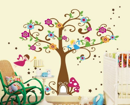 Acacia Confusa Self-Adhesive Reusable Decoration Wall Sticker Home Decor front-250919