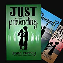 Just Pretending: Hearts to Follow Book 1 Audiobook by Dana Burkey Narrated by Brittany Morgan Williams