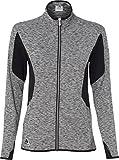 adidas Ladies' Space Dyed Full-Zip Jacket-A199