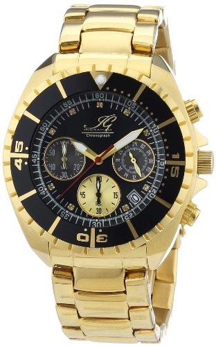 Ingraham - IG SYRA.1.613273D - Montre Homme - Quartz Chronographe - Chronomètre - Bracelet Acier Inoxydable Plaqué Multicolore