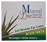 Mineral Line - Aloe Vera, Anti-Wrinkle Eye Cream, 30 ml / 1 oz by MINERAL LINE