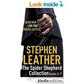 The Spider Shepherd Collection 5-7: Dead Men, Live Fire, Rough Justice