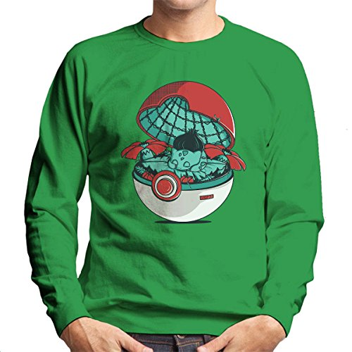 Green-Pokehouse-Bulbasaur-Pokemon-Mens-Sweatshirt
