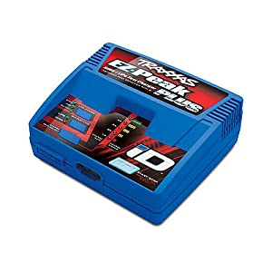 Traxxas TRA2970 2970 EZ-Peak Plus 4-Amp NiMH/LiPo Fast Charger with ID Auto Battery Identification Vehicle from HRPA - Traxxas