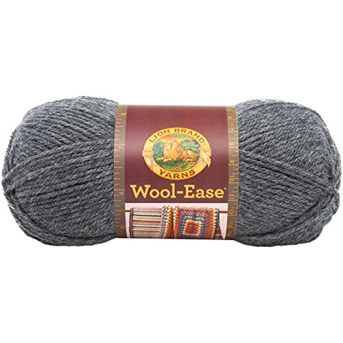 Yarn Brands : Lion Brand Yarn 620-152 Wool-Ease Yarn, Oxford Grey (023032621524 ...