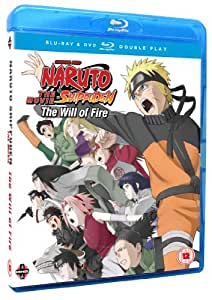 Naruto Shippuden Movie 3: The Will of Fire Blu-ray / DVD Combo Pack - Limited Edition