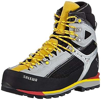 SALEWA MS RAVEN COMBI GTX (M) Herren Trekking- & Wanderstiefel, Gelb (0903 Black/Yellow), 41