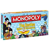 Monopoly Beatles Yellow Submarine Board Game (Color: Multi-colored)