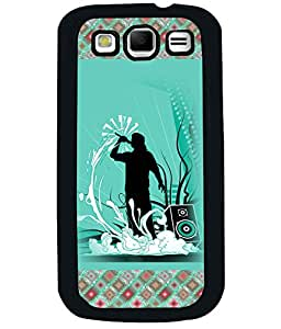 PrintVisa Metal Printed Music Designer Back Case Cover for Samsung Galaxy S3 I9300-D4926