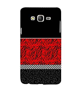 Abstract Pattern 3D Hard Polycarbonate Designer Back Case Cover for Samsung Galaxy On7 :: Samsung Galaxy On 7 G600FY