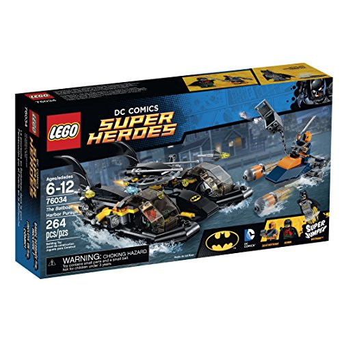 LEGO Super Heroes  the Batboat Harbor Pursuit Building Kit