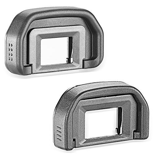 Neewer® 2-Pack Eyepiece Eyecup Eye Cup (Canon EB Replacement) for CANON EOS 5D Mark II / 5D / 6D / 70D / 60D / 60Da / 50D / 40D