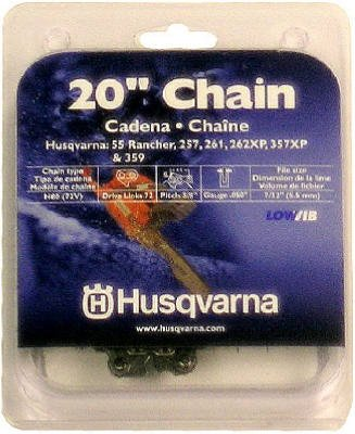Husqvarna Forest & Garden 531300441 Chain Saw Chain Fits Rancher Models, 20-In.