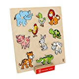 Hape - Home Education - Friendly Animals Puzzle