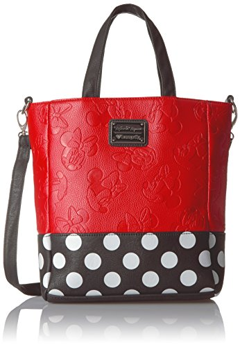 loungefly-disney-minnie-embossed-w-polka-dots-tote-red