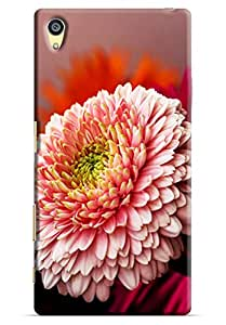 Omnam Flower Pattern Printed Designer Back Cover Case For Sony Xperia Z5 Premium