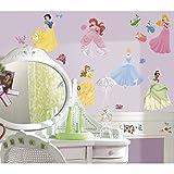 York Wallcoverings RMK1470SCS RoomMates Disney Princess - Princess Peel & Stick,