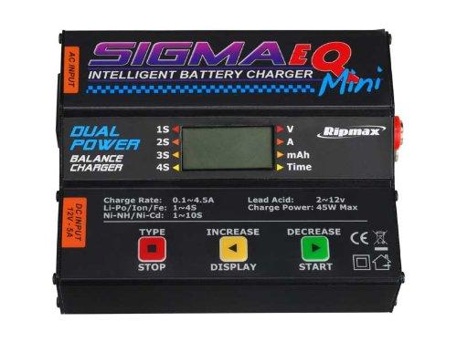 RipMax Sigma EQ Mini AC/DC LiPo/NiMH/NiCad Intelligent Fast Peak Battery Charger