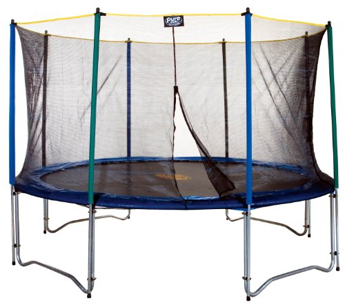 Pure Fun 12-Foot Trampoline and Enclosure Set