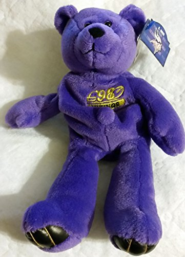 Randy Moss (Minnesota Vikings) Limited Treasures Premium Pro Bear