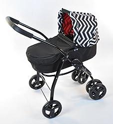 Doll Pram Bassinet Stroller High Quality Performance 2-1
