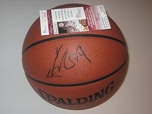 YAO Ming Signed Autographed Basketball Houston Rockets Authentic Certified JSA Coa...