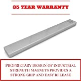 Magnetic Knife Bar - 12 Inch - Extra Strong Stainless Steel Magnet Tracks