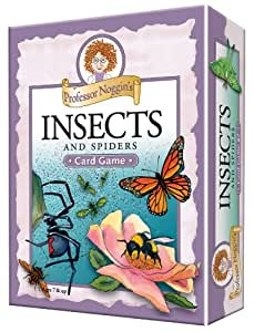 Educational Trivia Card Game - Professor Noggin's Insects and Spiders