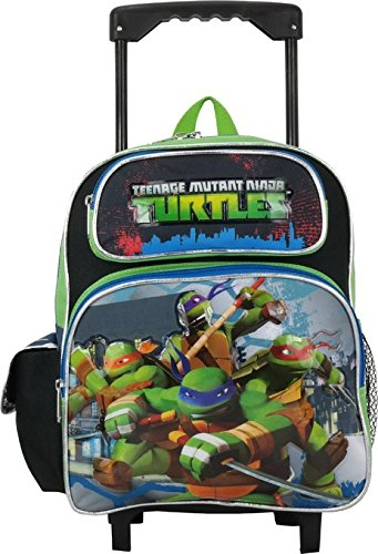 Teenage Mutant Ninja Turtles Toddler Rolling Backpack