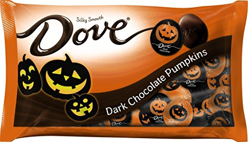 Dove Halloween Silky Smooth Dark Chocolate Pumpkins, 8.87 Ounce Bag - Pack of 6 (Parade Quality Costume)