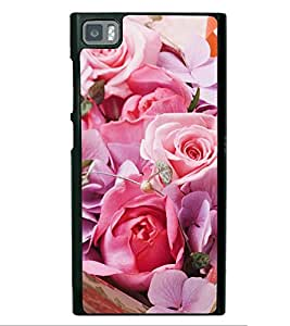 Pink Roses Back Case Cover for XIAOMI REDMI 3