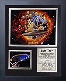 "Legends Never Die Star Trek Tv Framed Photo Collage, 11 x 14"""