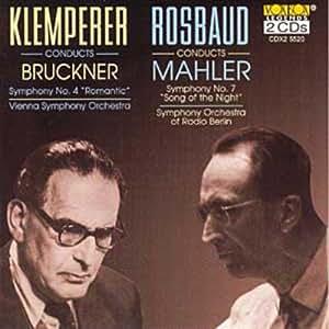 VARIOUS - ROSBAUD/MAHLER: KLEMPERER/BRUCKNER