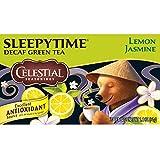 Celestial Seasonings Sleepytime Decaf Lemon Jasmine Green Tea, 20 Count (Pack of 6)