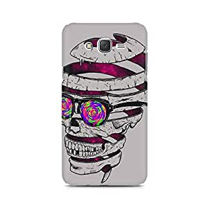 Ebby Skull Maker Premium Printed Case For Samsung J3 2016