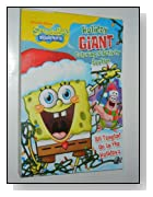 SPONGEBOB SQUAREPANTS Holiday GIANT Coloring & Activity Booklet