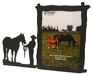 Male HALTER 5X7 Vertical Picture Frame